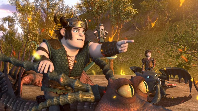 Saison 3 Episode 2 - L'oeil du dragon